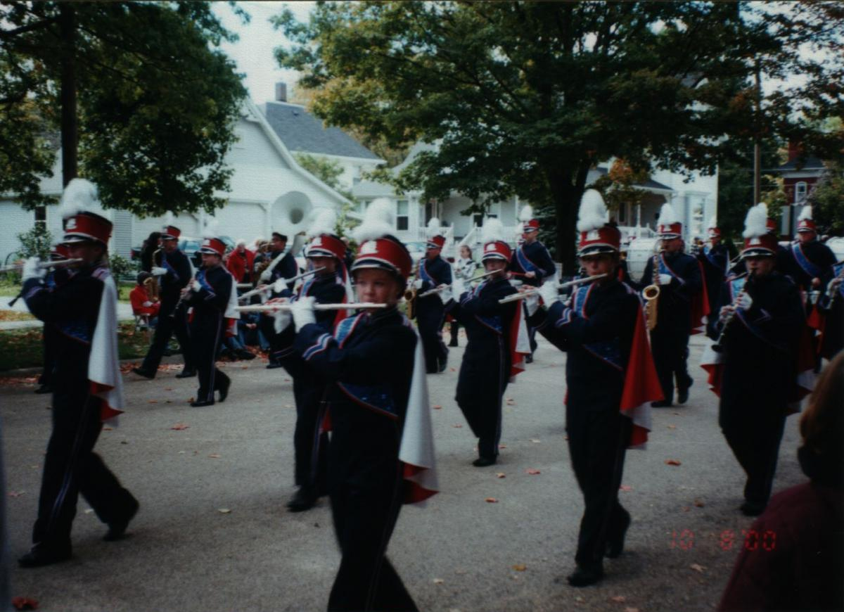 Playing my Flute in the Parade
